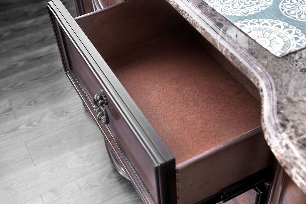 Remove odors from dresser drawers image
